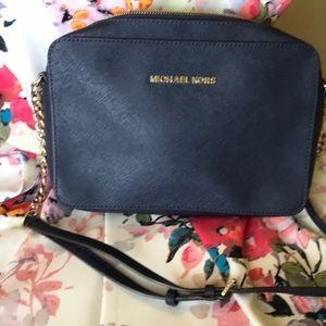 Michael Kors Leather Crossbody Purse